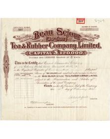 Beau Séjour (Ceylon) Tea & Rubber Company Ltd