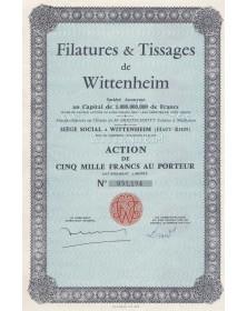 Filatures & Tissages de Wittenheim