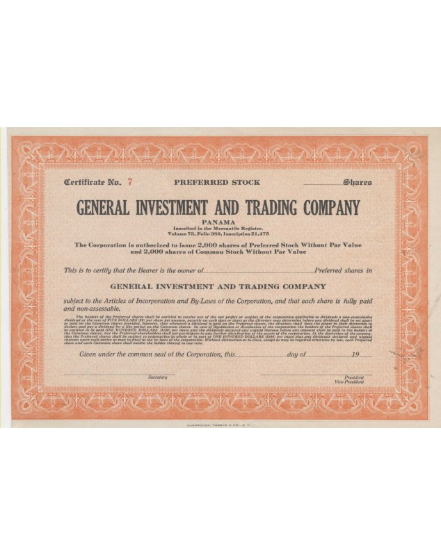 General Investment and Trading Company (Panama)