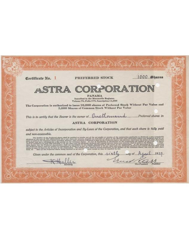 Astra Corp. (Panama)