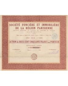 Sté Foncière et Immobilière de la Région Parisienne