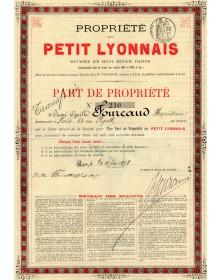 Propriété du Petit Lyonnais (journal)