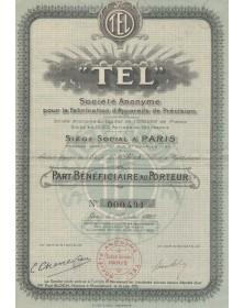 TEL, S.A. pour la Fabrication d'Appareils de Précision