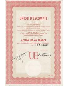 Union d'Escompte