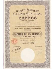 Sté Fermière du Casino Municipal de Cannes