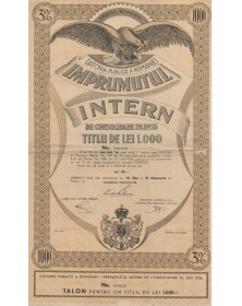 Datoria Publica, Imprumutul Intern 3% 1935