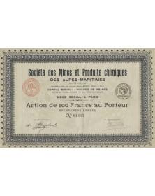 Sté des Mines et Produits Chimiques des Alpes-Maritimes