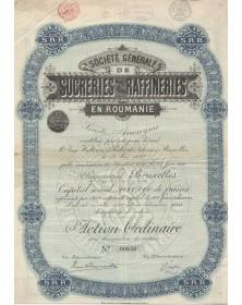 Sté Générale de Sucreries et Raffineries en Roumnaie