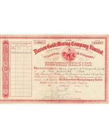 The Darien Gold Mining Co. Ltd