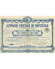 Cie Nationale de Prévoyance