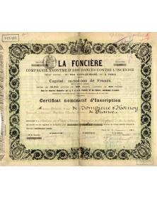 La Foncière - Insurance against Fire