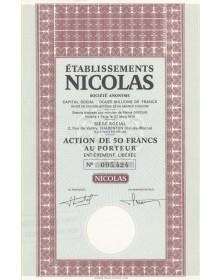 Etablissements Nicolas