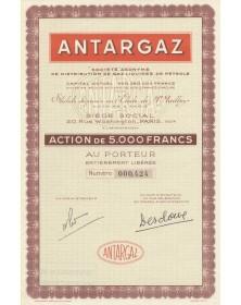 Antargaz, S.A. de Distribution de Gaz Liquides de Pétrole