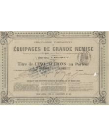 Cie Parisienne des Equipages de Grande Remise
