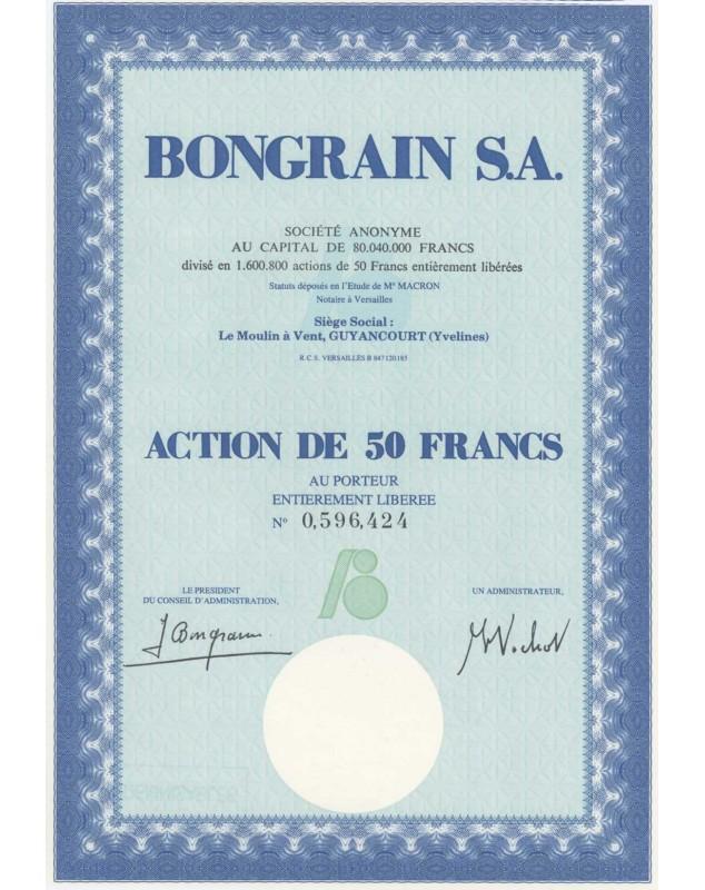Bongrain S.A.