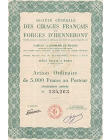 Sté Générale des Cirages Français et Forges d'Hennebont Brittany/Morbihan 56