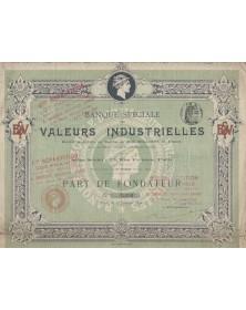 Banque Spéciale des Valeurs Industrielles