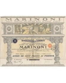 Marinoni - Machines et Matériel pour l'imprimerie et industries annexes