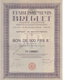 Etablissements Bréguet (false teeth)