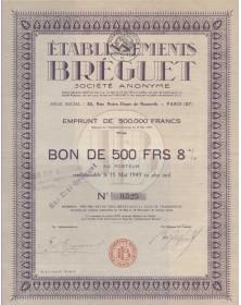 Etablissements Bréguet (prothèses dentaires)