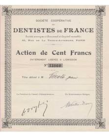 Sté Coopérative des Dentistes de France