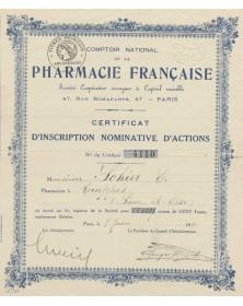 Comptoir National de la Pharmacie