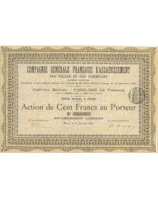 Cie Générale Française d'Assainissement des Villes et des Communes