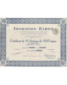 Fondation Barth