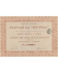 Sté de Gil Blas