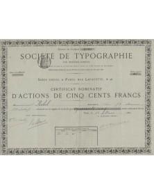 Société de Typographie par Procédés Rapides