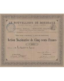 Le Nouvelliste de Bordeaux