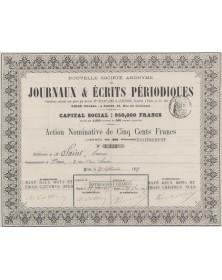 Nouvelle S.A. de Journaux & Ecrits Périodiques