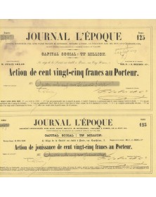 Journal L'Epoque