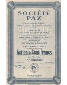 Société PAX