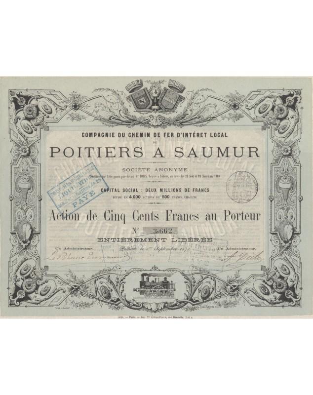 Chemin de Fer d'Intérêt Local de Poitiers à Saumur