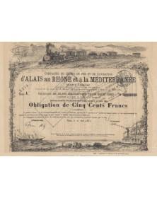 Chemins de Fer et de Navigation d'Alais au Rhône et à la Méditerranée