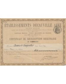 Ets Decauville Ainé