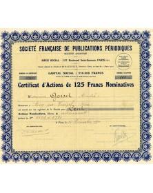 Sté Francaise de Publications Périodiques