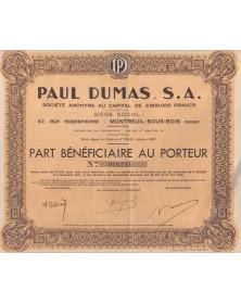 Paul DUMAS S.A.