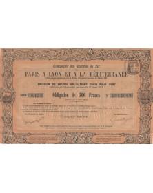 Cie des Chemins de Fer de Paris à Lyon et à la Méditerranée