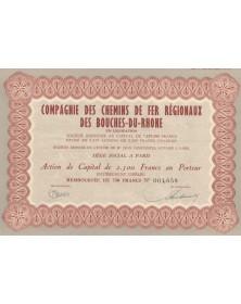 Cie des Chemins de Fer Régionaux des Bouches-du-Rhône