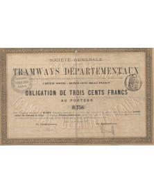 Sté Générale de Tramways Départementaux