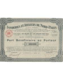 Fonderies & Ateliers de Nord-Paris