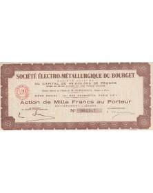 Sté Electro-Mécanique du Bourget