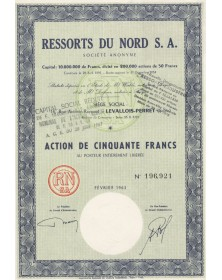 Ressorts du Nord S.A.