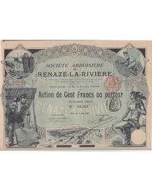 Sté Ardoisière de Renazé-La-Rivière