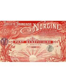Sté Française La Norgine