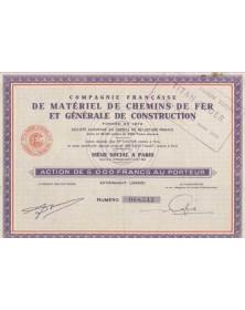 Cie Française de Matériel de Chemins de Fer et Générale de Construction (Titan-Coder)