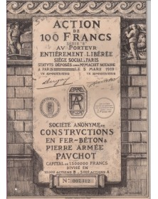 Constructions en Fer - Béton & Pierre Armée Pauchot