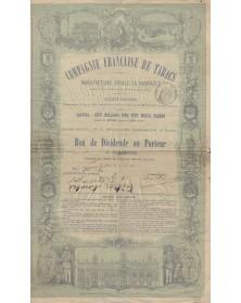 Cie Française de Tabacs, Manufacture Royale La Honradez (Havane, Espagne, Portugal, etc.)